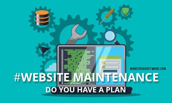 website-maintenace
